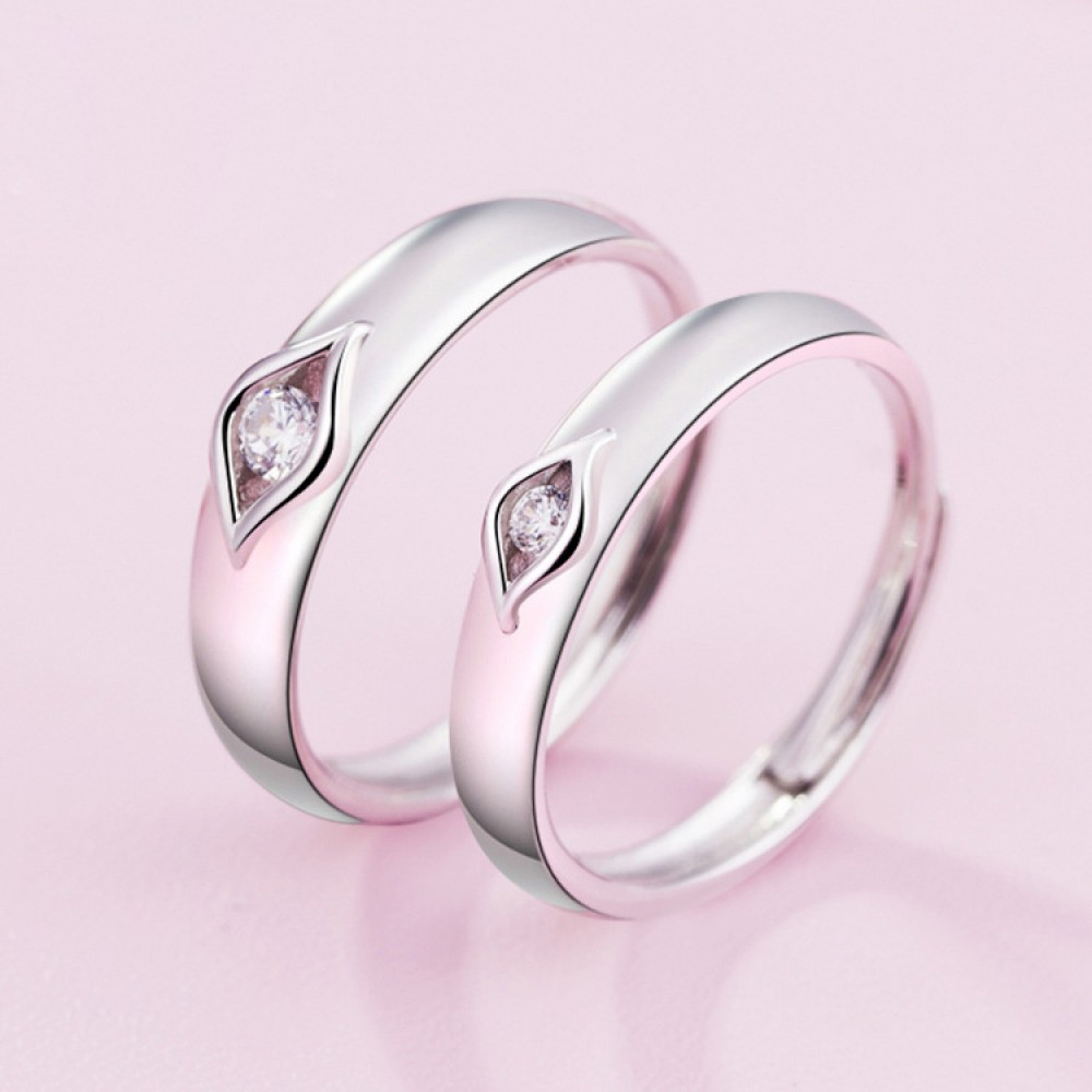 9298 couple ring men and women open ring students jewelry Japan and