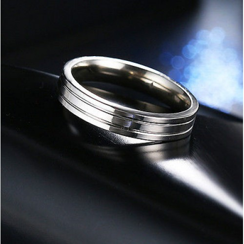 9202 Stainless Steel Rings For Women Mirror Shining Fashion Jewellery