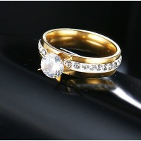 9214 Top Quality Diamond / Crystal Rings For Women Fashion Jewelry
