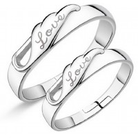 9323 Charm New arrival Free shipping Wedding couple Ring For lover's Wholesale Valentine's Day gift Rings