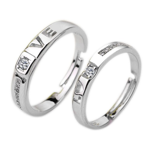 9341 Couple Zircon Thin Rings For Women Men Wedding Bridal Prong  Crystals  High Quality Noble Anneaux