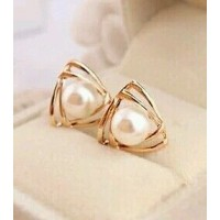 #1002 Korean jewelry sweet and romantic and generous temperament earrings