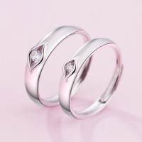 9298 couple ring men and women open ring students jewelry Japan and South Korea personalized ring birthday gift