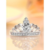 9307 AMERICAN CROWN AD ADJUSTABLE RING